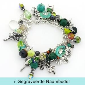 Zilveren Bedelarmband - Do you believe in Fairytales