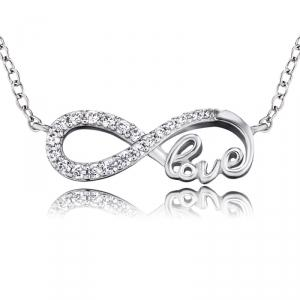Engelsrufer Infinity Love Zilver - Ketting thumbnail