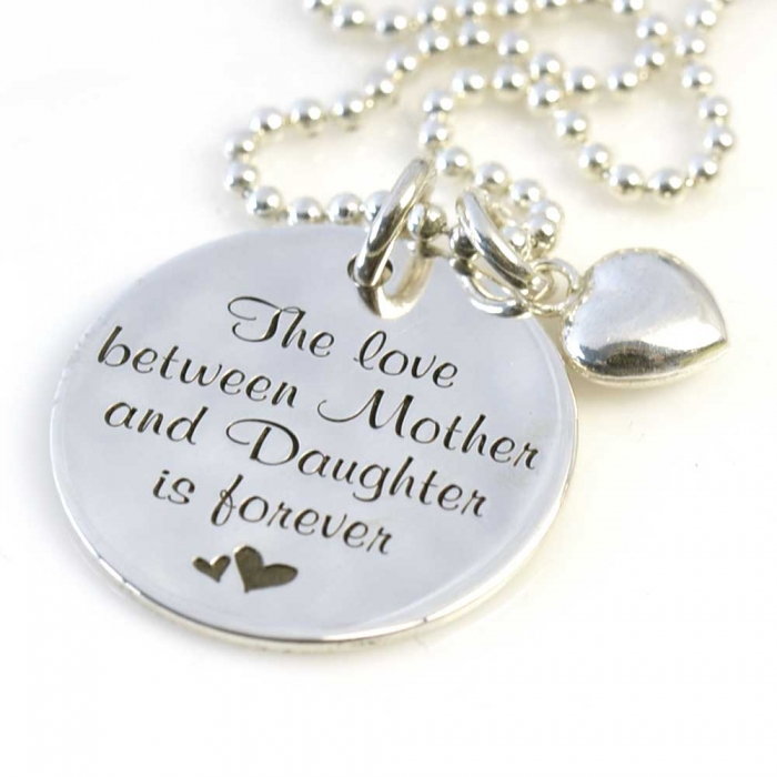 Favoriete The love between Mother and Daughter is forever - Medium Munt #WZ89